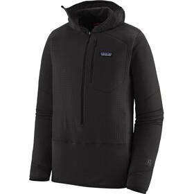 Patagonia R1 Pullover hættetrøje Herrer, sort